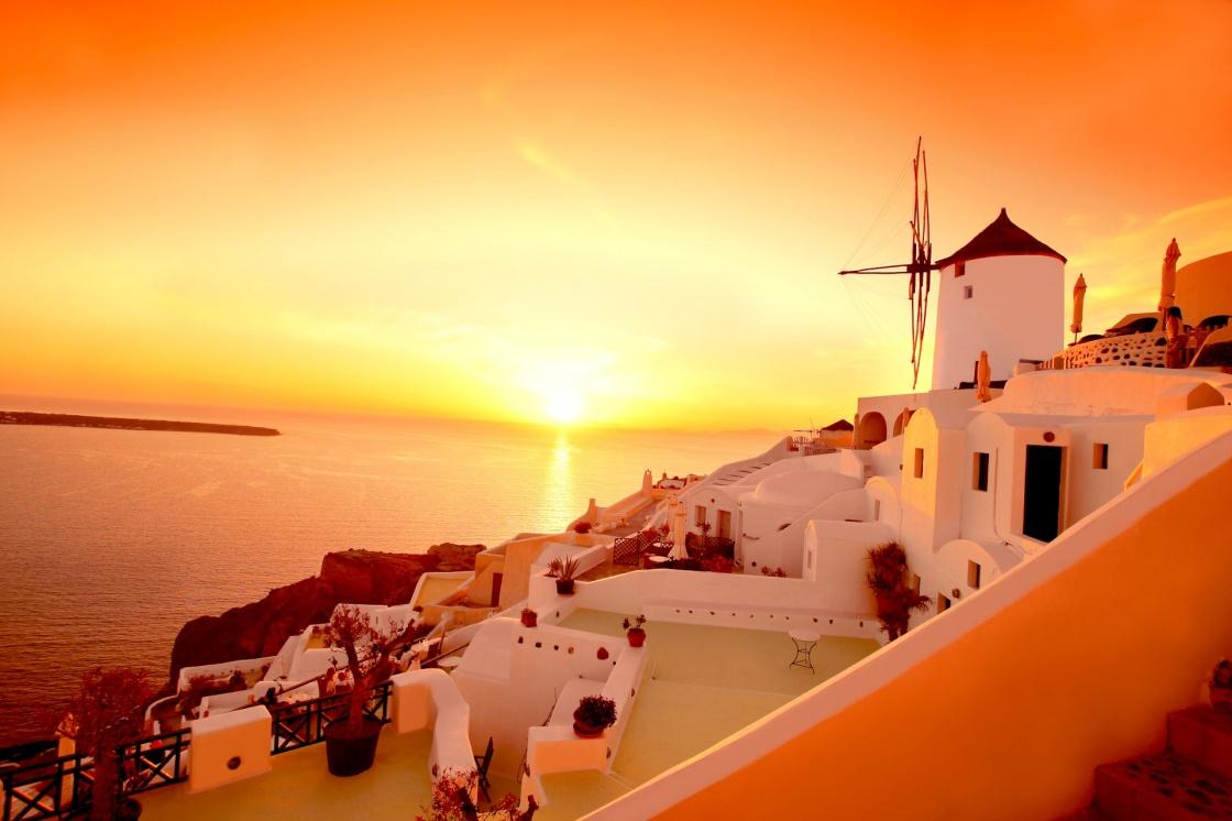 Αποτέλεσμα εικόνας για σαντορίνη ηλιοβασίλεμα